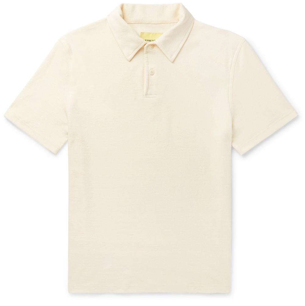 De Bonne Facture Terrycloth Polo Shirt