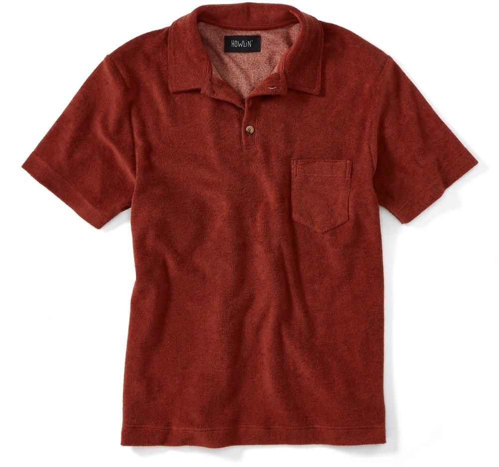 Howlin Terrycloth Polo Shirt