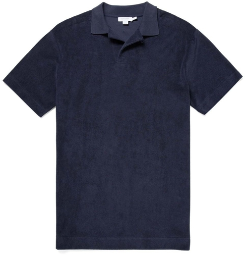 Sunspel Terrycloth Polo Shirt