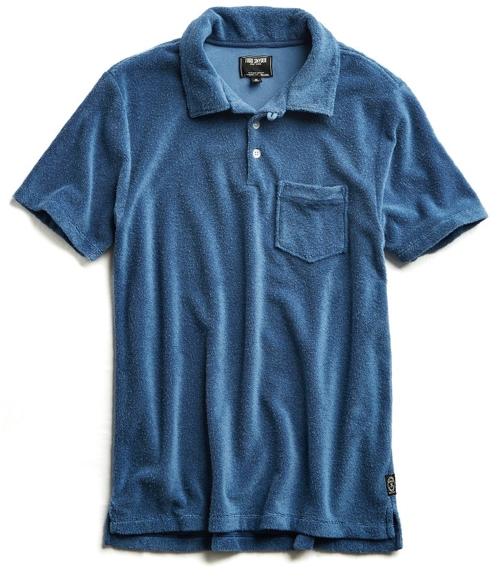 Todd Snyder Terrycloth Polo Shirt