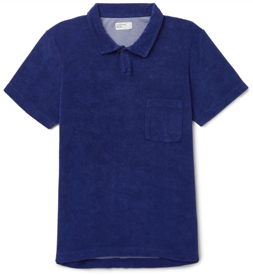 Universal Works Terrycloth Polo Shirt