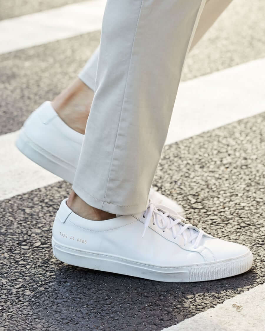Common Projects Achilles white lace up men's sneaker