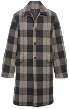 Acne Studios Oversized Wool Overcoat