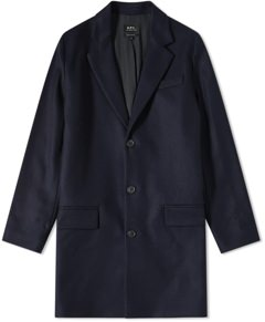 A.P.C. Italian Wool Chesterfield Coat