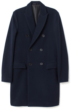 H&M Felted Wool Double-Breasted Coat