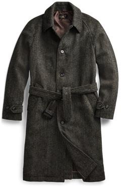RRL Harris Tweed Overcoat