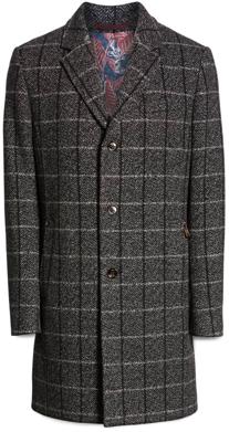 Ted Baker London Plush Wool Overcoat