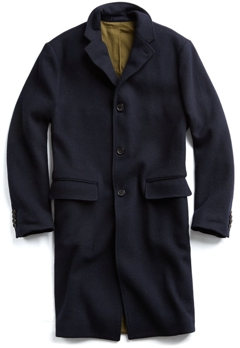 Todd Snyder Double Knit Topcoat