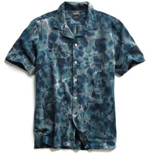 Todd Snyder Tie-Dye Seersucker Shirt