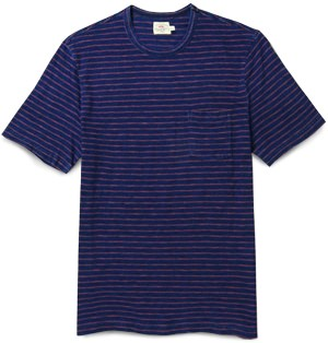 Faherty Striped Undershirt