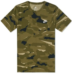 Nike Patterned Undershirt
