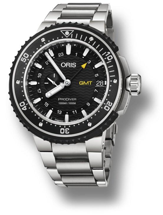 Oris ProDiver GMT dive watch