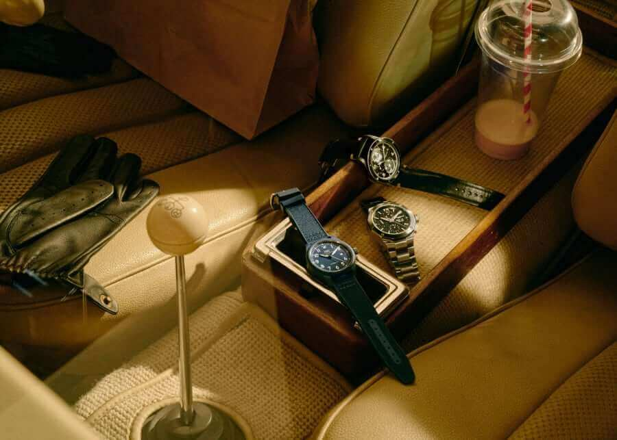 Blue dial luxury timepieces in 2021