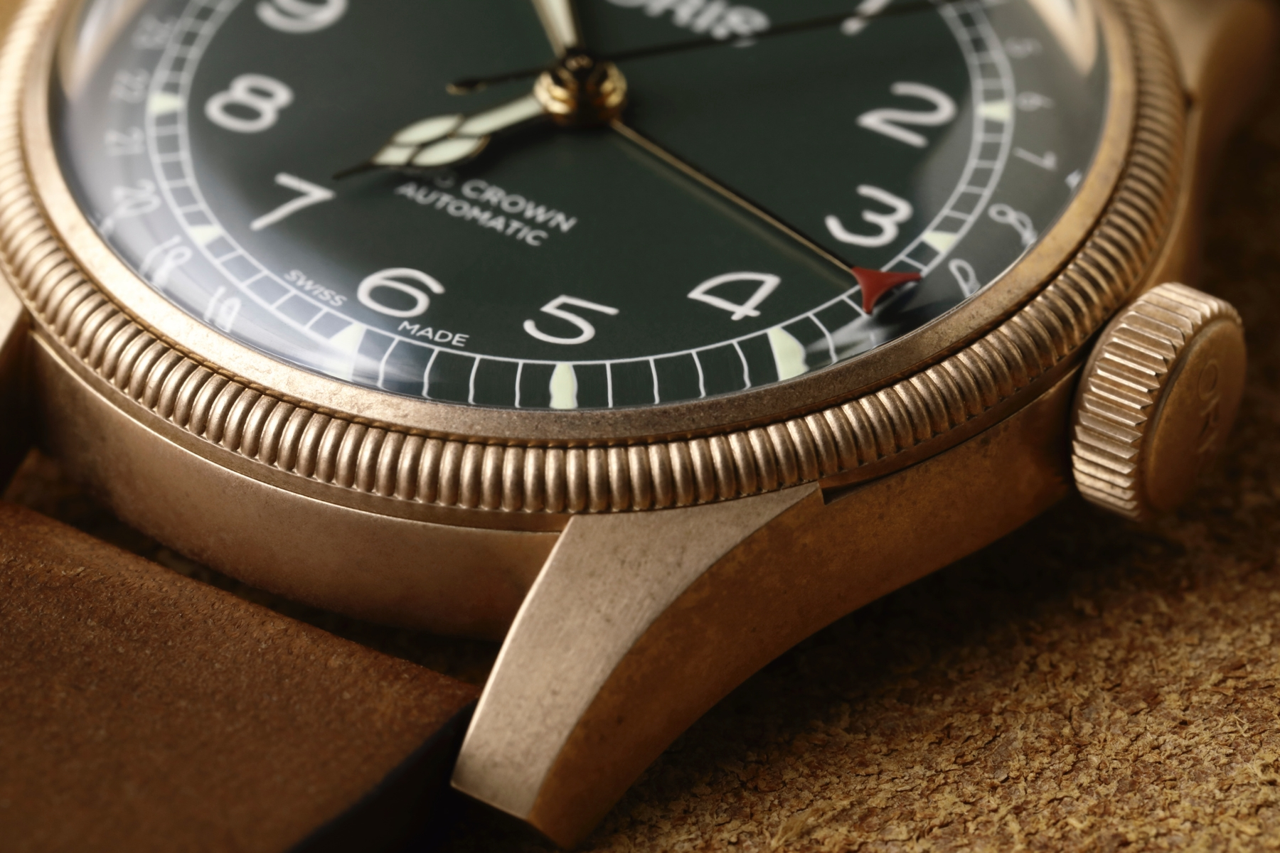 Oris bronze timepieces