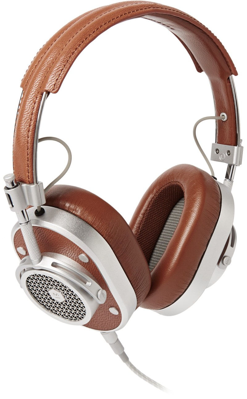 Master & Dynamic Leather Over Ear Headphones