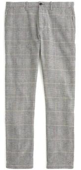 J.Crew Brushed Cotton 484 Plaid Pants