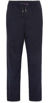 Mr P. Brushed Twill Drawstring Trousers