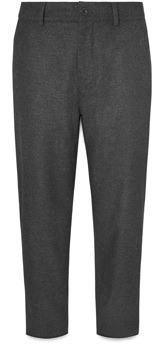 Mr P. Wool Felt Wide Leg Trousers