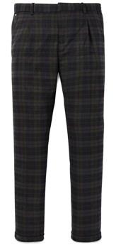 Scotch & Soda Pleated Plaid Trousers