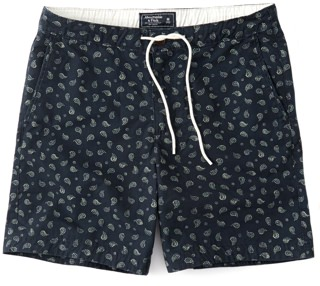 Abercrombie & Fitch printed shorts