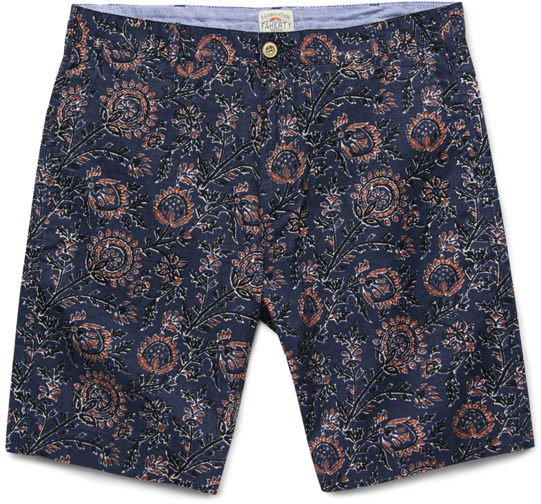 Faherty printed shorts