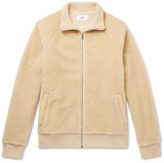 Mr P. Fleece Zip-Up Sweater