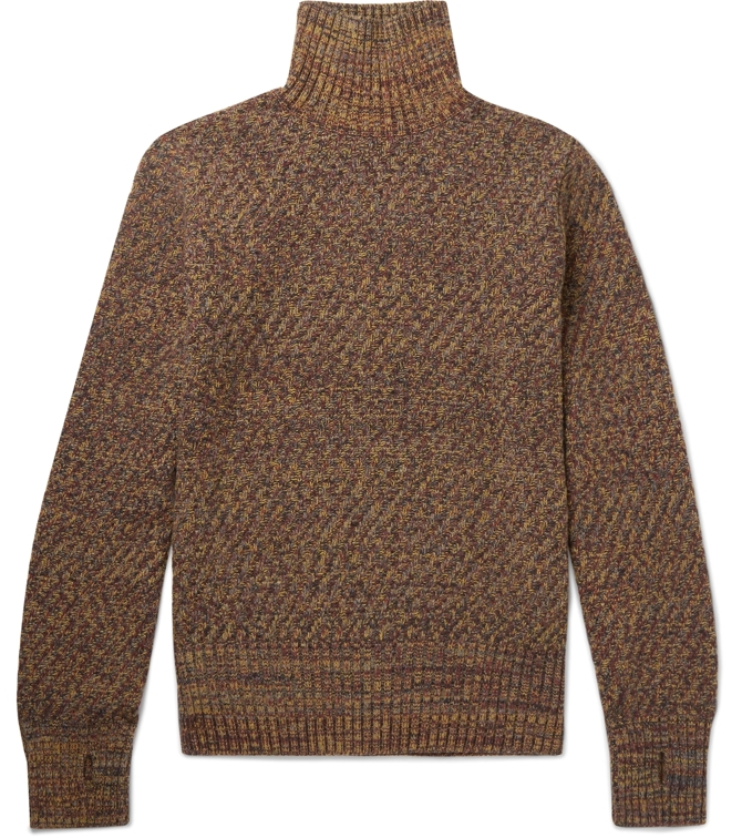 Oliver Spencer Talbot Extra Fine Wool Turtleneck