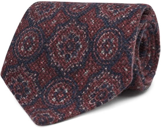 Suitsupply Italian Wool/Silk Tie