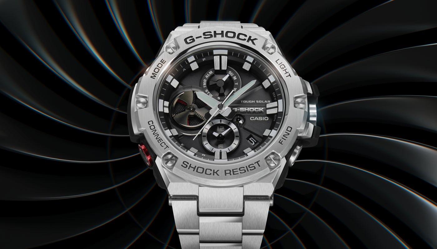 The G-SHOCK G-STEEL GSTB100D-1A Watch