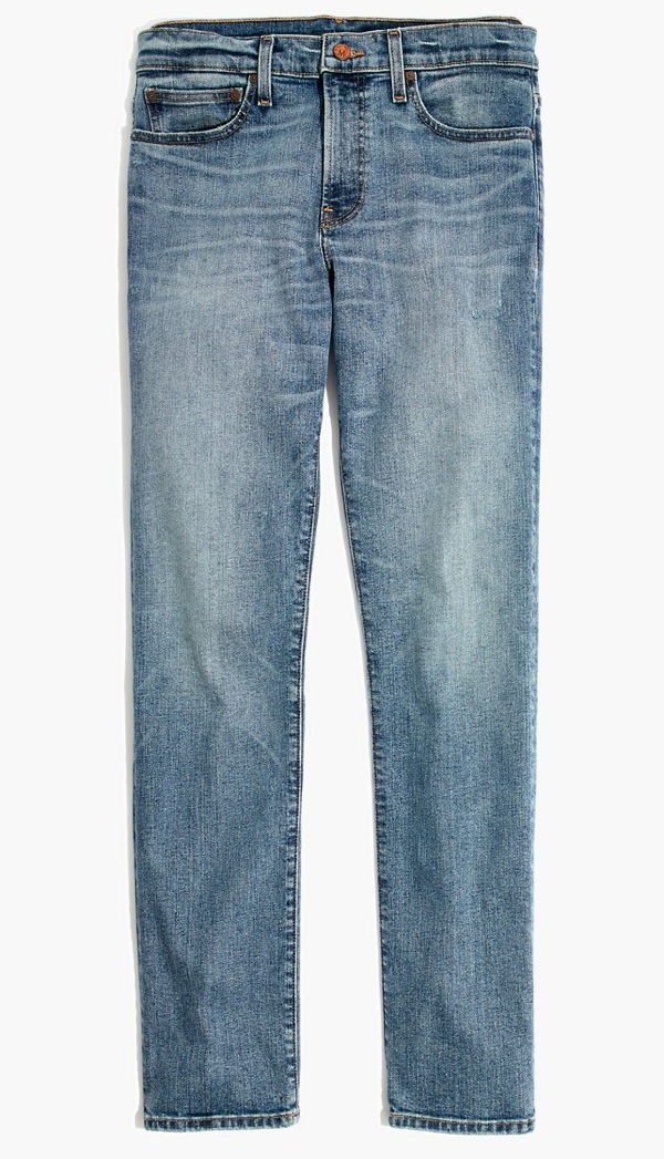 Madewell Light Fade Slim Jeans
