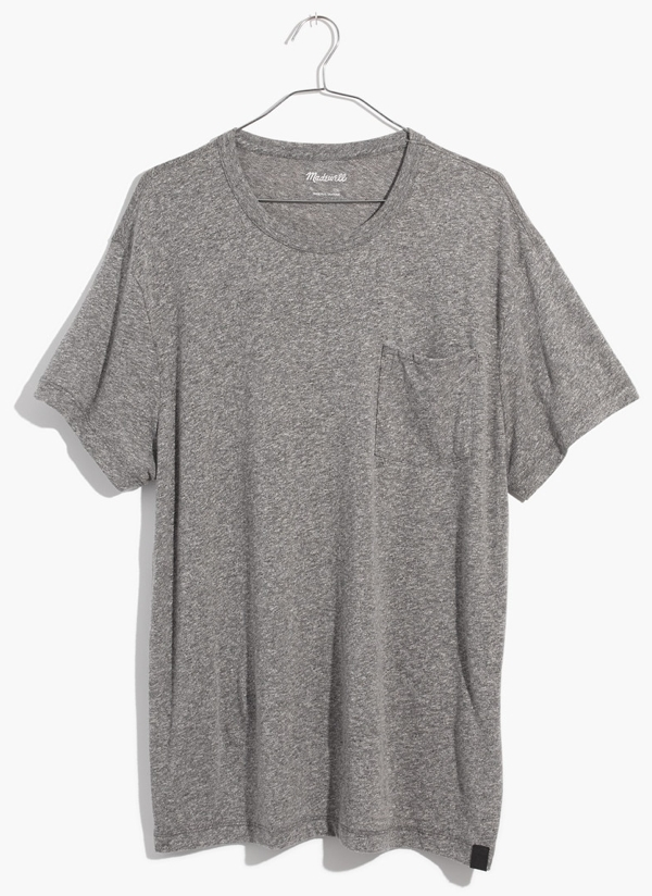Madewell Tri-Blend Pocket T-Shirt