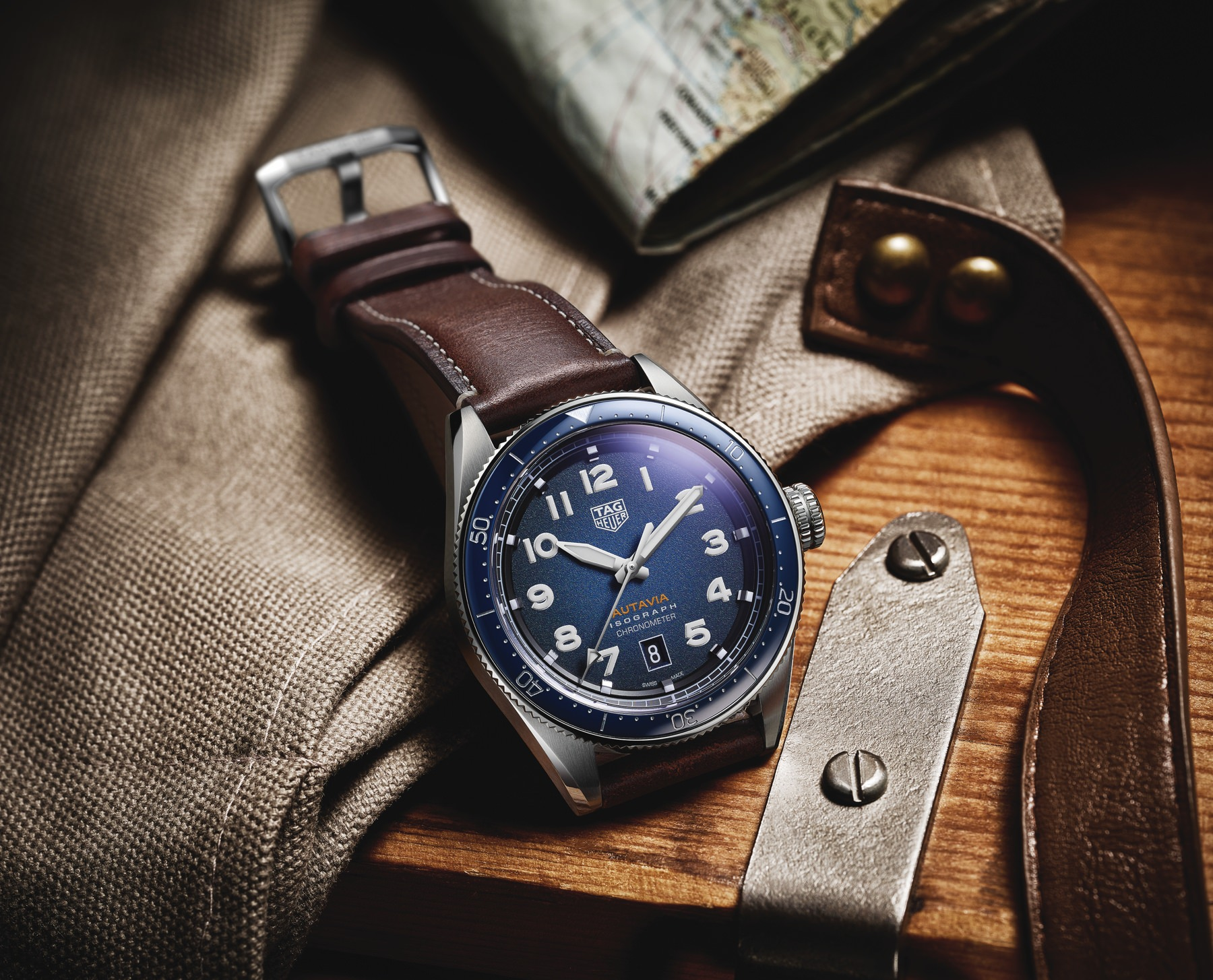 Moern heirloom timepieces from TAG Heuer for Father's Day