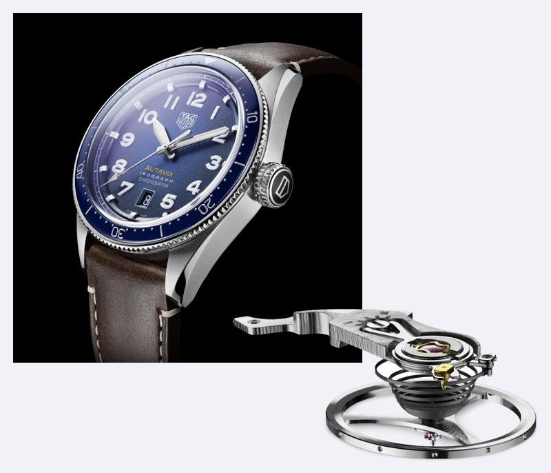 TAG Heuer Autavia Isograph timepiece