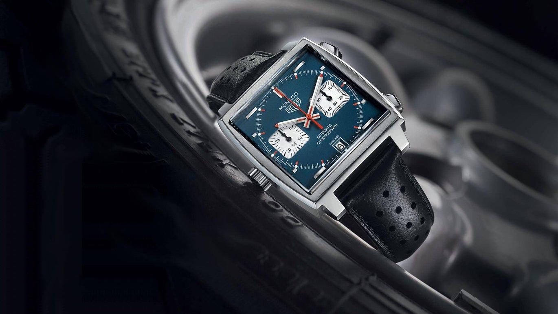 TAG Heuer Monaco Calibre 11 timepiece