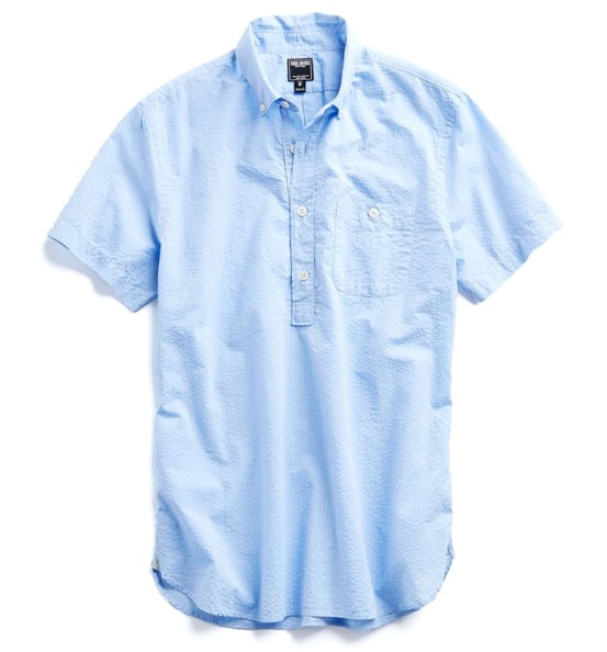 Todd Snyder Short Sleeve Popover Shirt