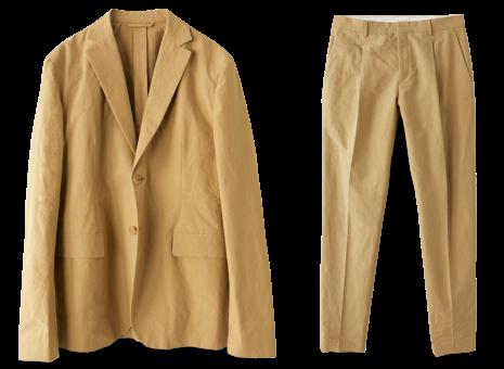 Acne Studios Washed Cotton Suit