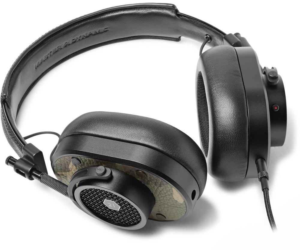Master & Dynamic Camo Print Leather Headphones