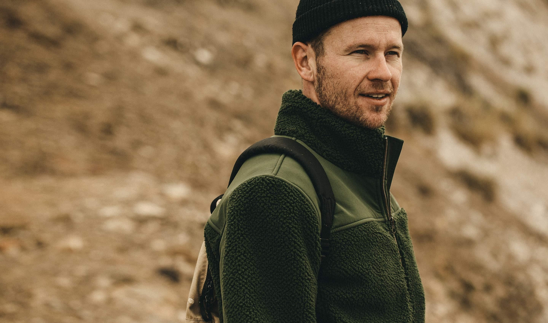 Olive drab surplus style menswear outfit inspiration