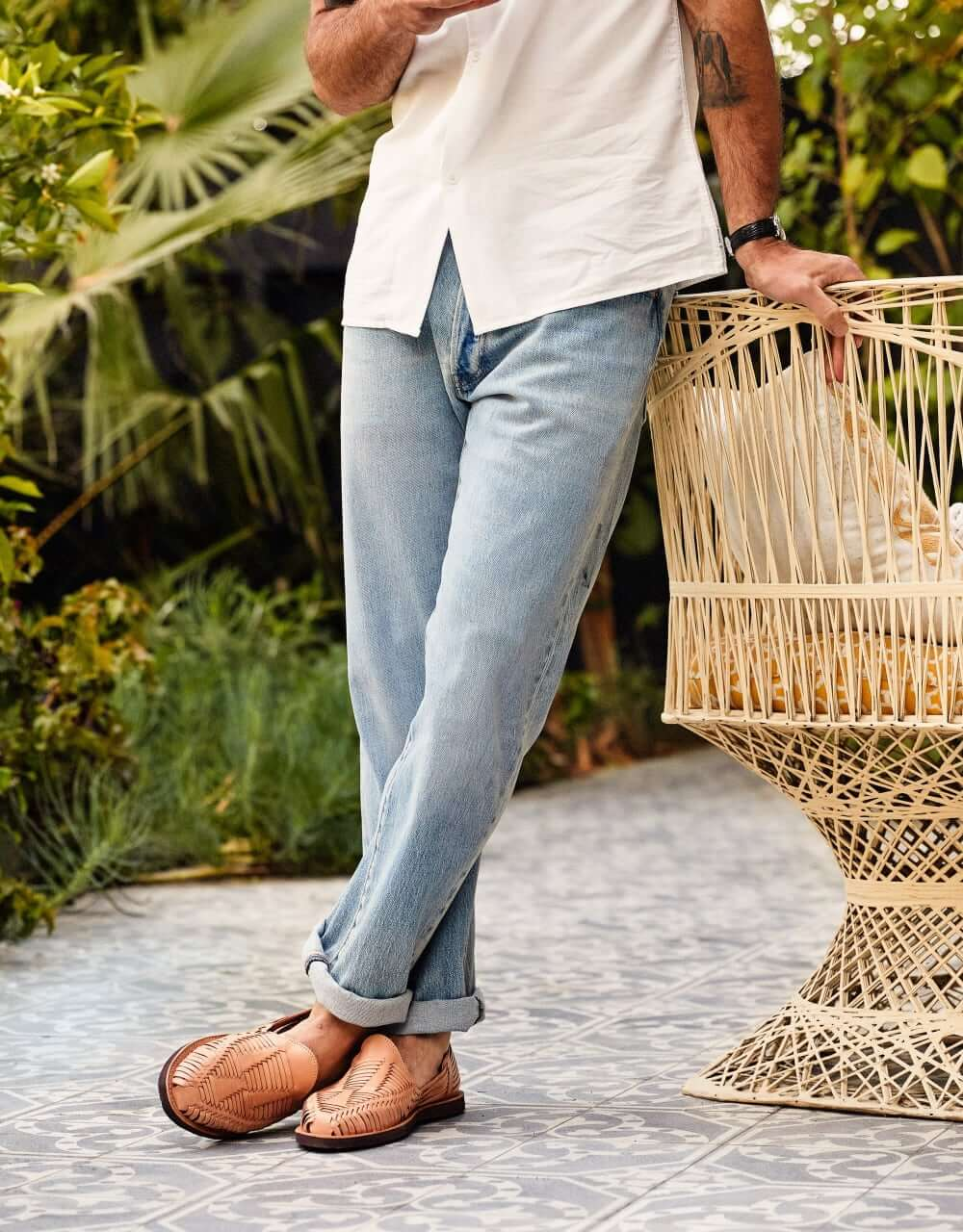 Men's outdoor picnic outfit inspiration