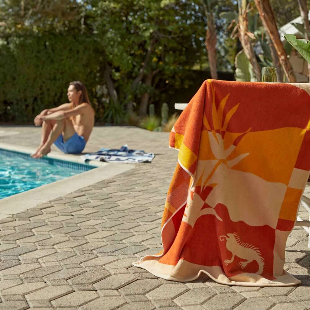 What We're Wearing: Poolside Lounging