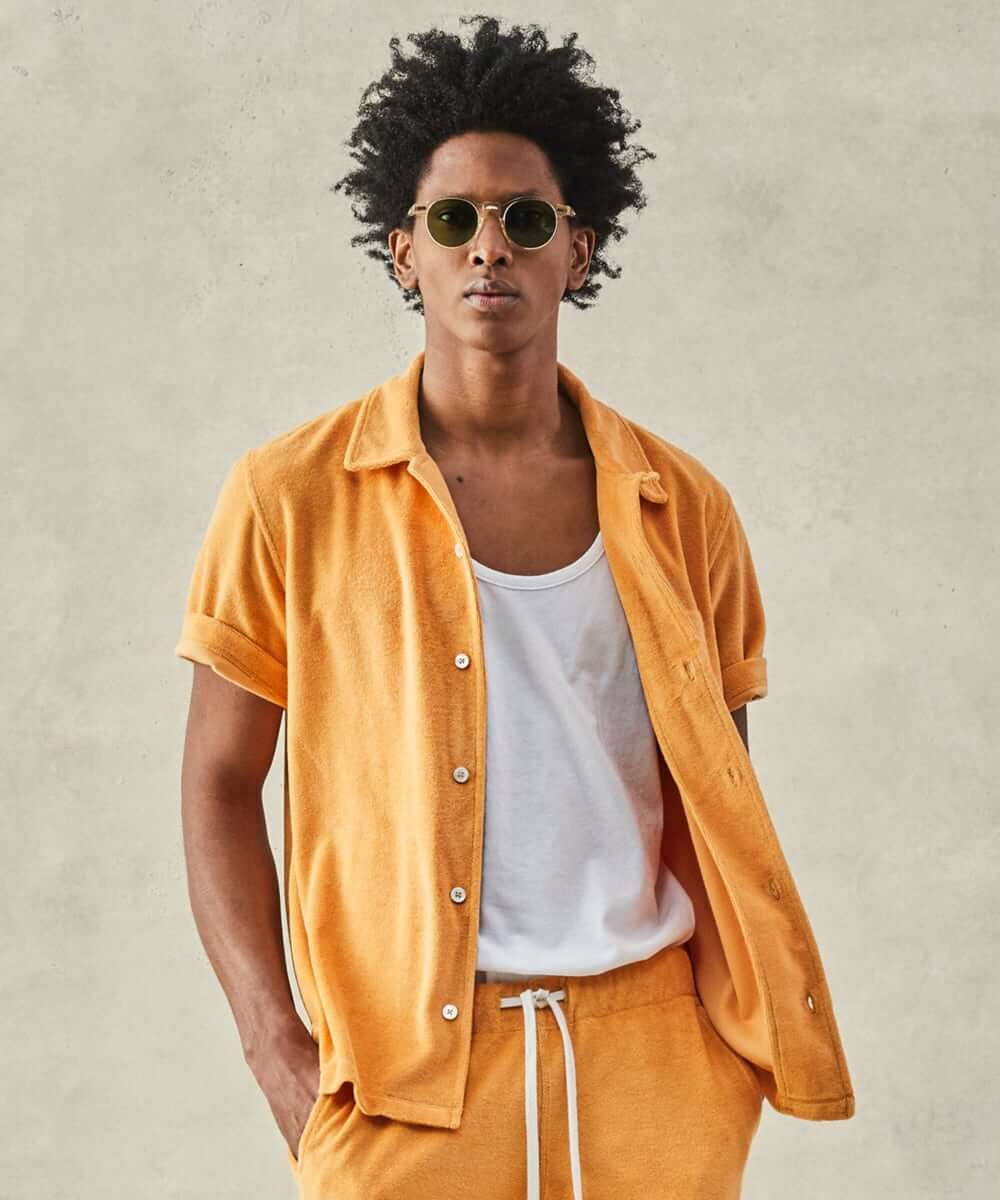 Men's poolside lounging outfit inspiration