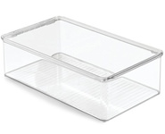 MetroDecor Clear Shoe Storage Containers