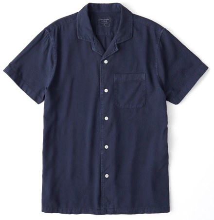 Abercrombie & Fitch Garment-Dyed Signature Fit Shirt