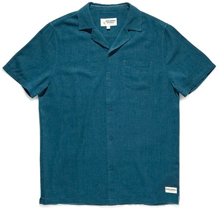 Banks Journal Textured Linen Shirt