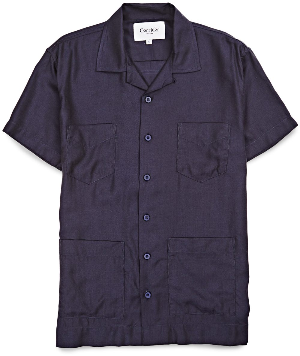 Corridor Twill 4-Pocket Shirt