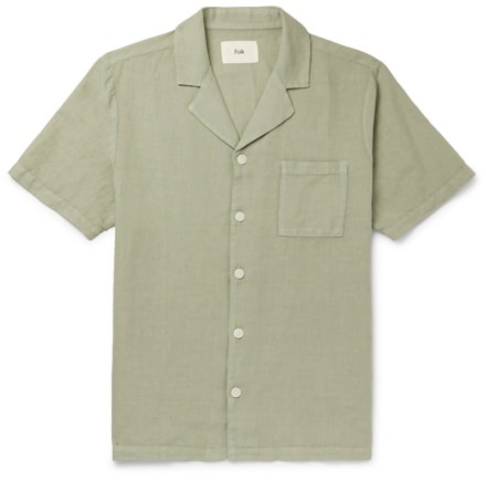 Folk Linen/Cotton Shirt