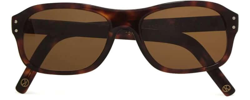 Kingsman + Cutler and Gross Square-Frame Tortoiseshell Sunglasses