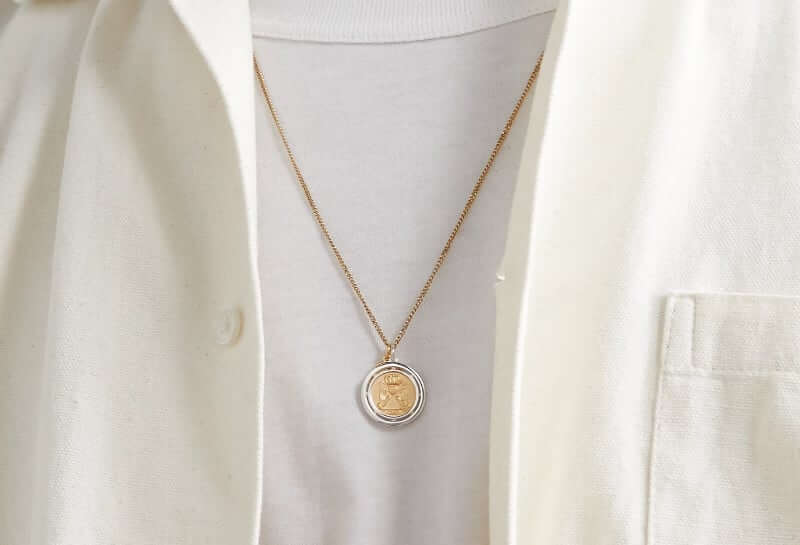 Miansai Test of Time Gold-Plated Necklace