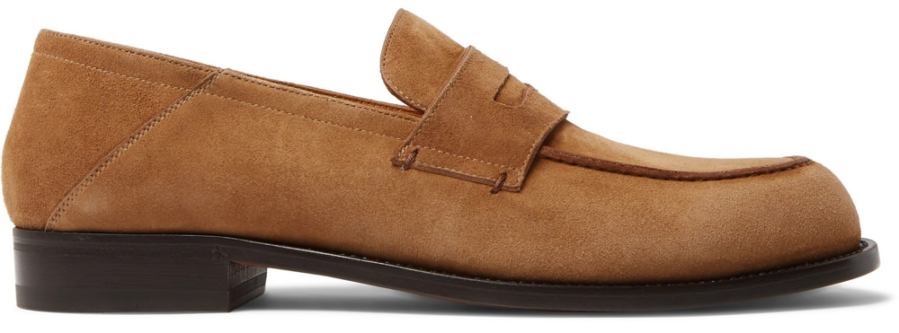 Mr P. Suede Loafers