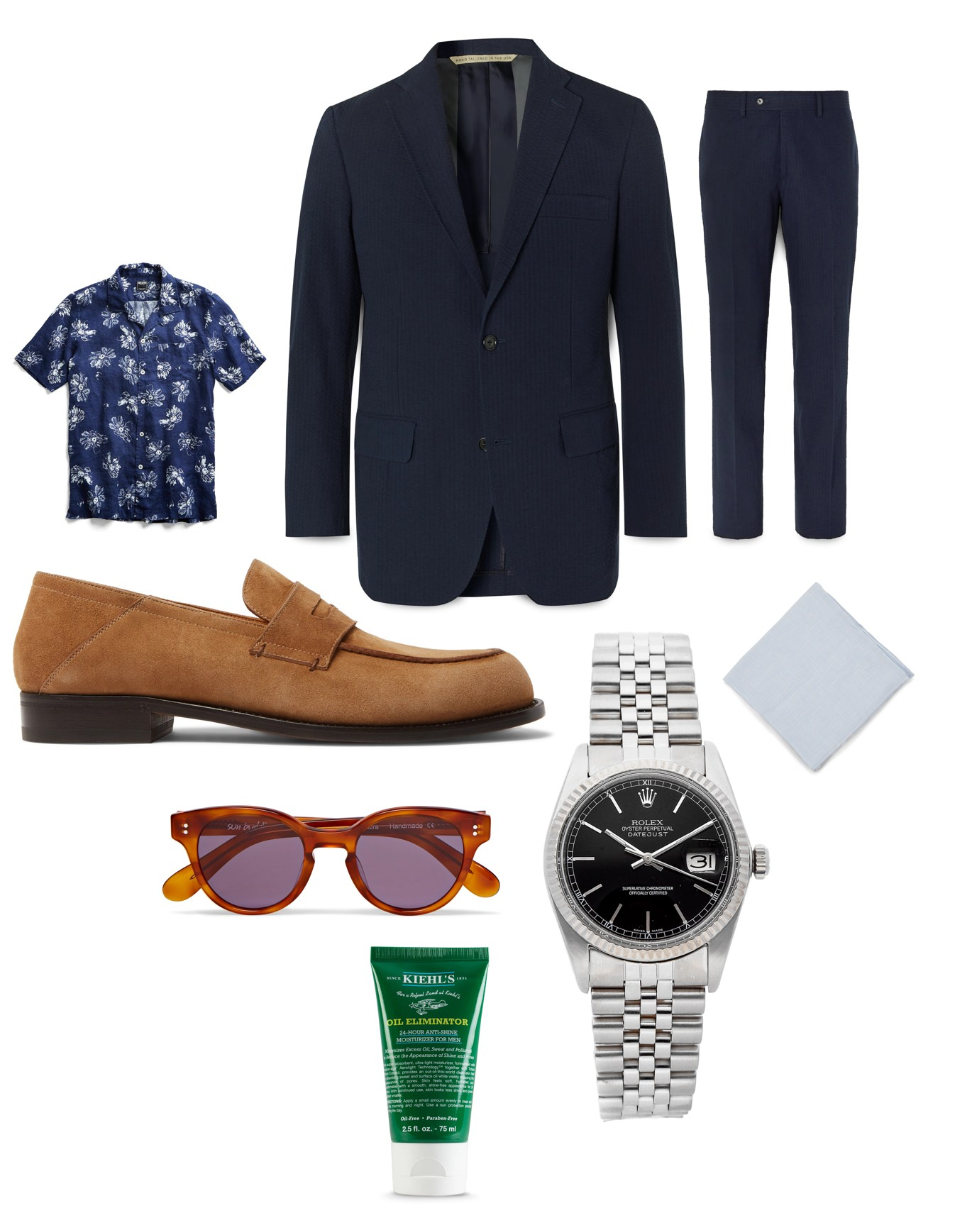 Men's spring and summer wedding outfit inspiration